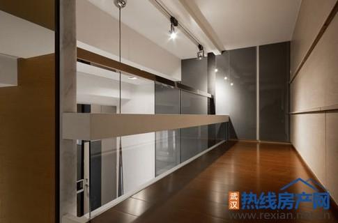 挑高小户型装修案例 86平挤出收纳空间