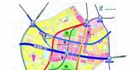 武汉中央商务区交通轴线示意图 - 新浪湖北
