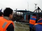 联合执法打击非法吸沙船 进一步净化辖区通航环境 - 中华人民共和国武汉海事局