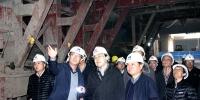 集团公司总经理姚春桥带队检查轨道交通纸坊线安全生产情况 - 武汉地铁