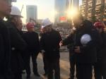 集团公司总经理姚春桥带队检查轨道交通2号线南延线和11号线东段工程建设及质量安全生产情况 - 武汉地铁