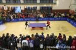 乒乓球世界冠军刘诗雯武大行(组图) - 武汉大学