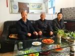 湖北省农机局领导走访慰问老干部 - 农业厅