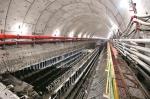 图为:隧道将分上下两层,上层跑汽车下层跑地铁 曲严 - 新浪湖北