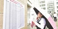 近15万人冒雨赶考湖北省公务员考试 基层岗位被看好 - 新浪湖北