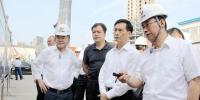 市政协领导到集团公司调研轨道交通建设情况 - 武汉地铁