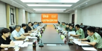 武警湖北总队和省文化厅联合召开文化建设军民融合试点工作会议 - 文化厅