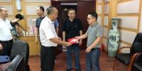 姜友生到省运管局、汉十管理处看望慰问困难党员 - 交通运输厅