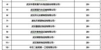 逾期未检验重点车辆达15辆以上企业名单。(武汉市交管局提供) - 新浪湖北