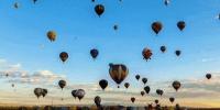 不用去土耳其 中国这些地方也能坐热气球 - Whtv.Com.Cn