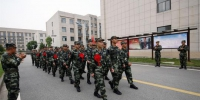 武警湖北省总队迎来首批入伍新兵 张长廉 摄 - 新浪湖北