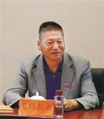 图为尼玛扎西西藏宏绩集团有限公司董事长、西藏湖北商会终身荣誉会长 - 新浪湖北