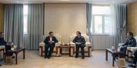 图为中国残联与北京联合大学会谈现场 - 残疾人联合会