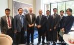 窦贤康率团访问美国一流大学 - 武汉大学
