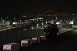 在三峡船闸开展夜间巡逻 - Hb.Chinanews.Com