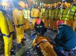 省厅举办2018年隧道施工坍塌应急救援演练 - 交通运输厅