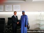 我校代表团出访摩洛哥、几内亚和加蓬 - 武汉大学