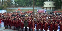 师生集体宣誓迎第五个国家宪法日 - 武汉大学