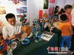 端午假期,湖北举行非遗展 湖北省文旅厅供图 - Hb.Chinanews.Com