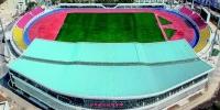 图为:汉口文体中心 设观众席位8756座,主要承担武汉军运会足球项目比赛。 - 新浪湖北