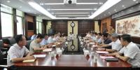 """周霁在汉与省农业农村厅负责人座谈 推动宜昌""""三农""""工作再上新台阶 - 农业厅"""