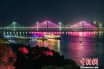 武汉两江四岸千余楼宇流光溢彩庆国庆 - Hb.Chinanews.Com