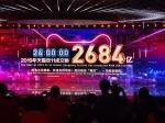 11月11日全天,2019天猫双11全球狂欢节总成交额(GMV)达到2684亿元人民币。 澎湃新闻见习记者 吴雨欣 摄 - 新浪湖北