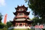 观江楼外景 武汉市水务局供图 摄 - 新浪湖北