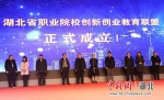 首届湖北省中华职业教育创新创业大赛举办颁奖典礼 - Hb.Chinanews.Com