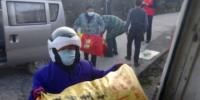 """长阳县九柳坪村:万斤爱心蔬菜送""""疫""""线 - Hb.Chinanews.Com"""