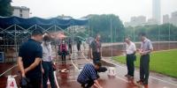 学校顺利完成湖北省2020年体育专业素质测试工作 - 湖北大学